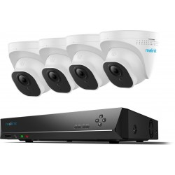 Reolink PoE 8MP Dome Camerasysteem met NVR - RLK8-800-D4